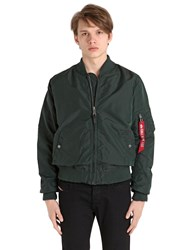 Alpha Industries Ma 1 Tt Slim Fit Nylon Bomber Jacket