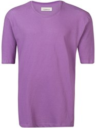 Laneus Relaxed Fit T Shirt Purple