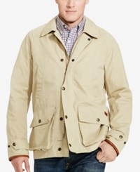 Polo Ralph Lauren Men's Big And Tall Twill Coat Classic Khaki