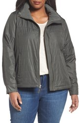 Columbia Plus Size Women's Shining Light Quilted Jacket Gravel
