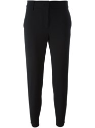 Dkny Straight Trousers Black