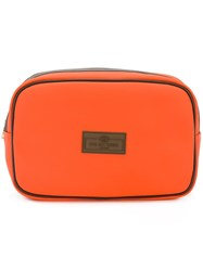 Otis Batterbee Large Wash Bag Yellow Orange