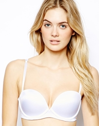 Ultimo Miracle Strapless Plunge Bra White