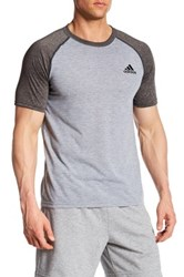 Adidas Ultimate Climalite Training Tee Gray