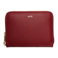 A.P.C. Red Maria Compact Wallet