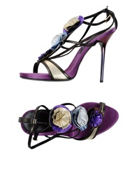 Diego Dolcini Sandals Purple