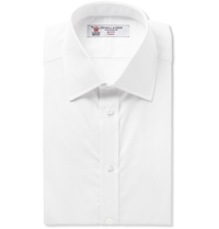 Turnbull And Asser White Double Cuff Cotton Shirt