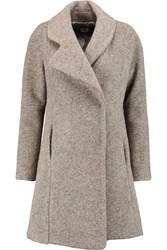 Opening Ceremony Morgane Brushed Felt Coat Nude