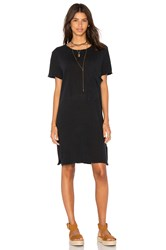 Current Elliott The Ex Boyfriend Tee Dress Black