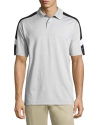 Callaway Emboss 3 Colorblock Polo Shirt Gray