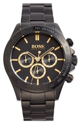 Boss 'Ikon' Chronograph Bracelet Watch 44Mm