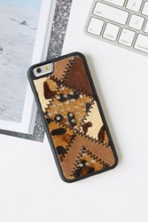 Free People Womens Patchwork Iphone 6 Case