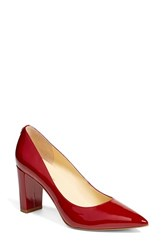 Ivanka Trump Women's 'Lysa' Pointy Toe Pump Fresh Red Patent Leather