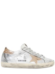 Golden Goose Super Star Metallic Faux Leather Sneaker