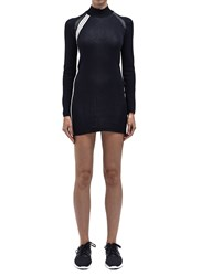 Y 3 Womens Knitted Dress Black