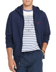 Polo Ralph Lauren French Terry Hoodie Cruise Navy