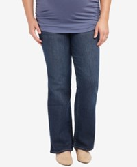Motherhood Maternity Plus Size Bootcut Dark Wash Jeans Midnight Dark Wash