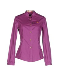 Piero Guidi Shirts Shirts Women Purple