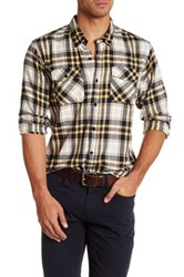United By Blue Spruce Plaid Shirt Large Yellow