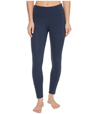 Lorna Jane Luster Core Ankle Biter Tights Pale Canyon Women's Casual Pants Blue