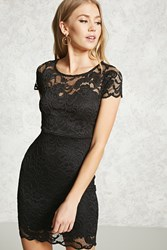 Forever 21 Scalloped Lace Sheath Dress