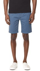 7 For All Mankind Trouser Shorts Blue Wave