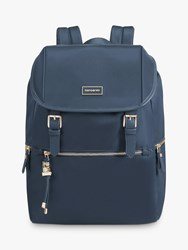 Samsonite Karissa Biz 14.1 Laptop Round Backpack Dark Navy