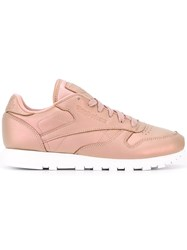 Reebok Metallic Lace Up Sneakers Pink Purple