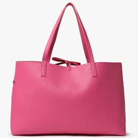 John Lewis Rachel Reversible East West Tote Bag Pink Red