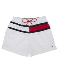 Tommy Hilfiger White Flag Trunk Swimsuit