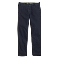 J.Crew Flannel Lined Chino In Urban Slim Fit Dusk Blue