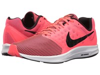 Nike Downshifter 7 Hot Punch Black White Women's Running Shoes Pink