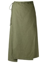 Lilly Sarti Midi Skirt Green