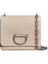 Burberry The Small Leather D Ring Bag Nude And Neutrals
