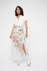 Free People Womens Bri Bri Butterfly Maxi