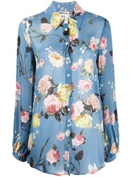 Semicouture Long Sleeved Floral Print Shirt 60