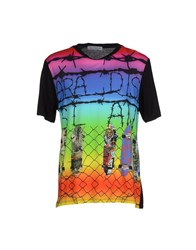 Leitmotiv Topwear T Shirts Men Black