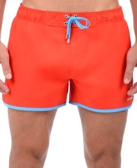 2Xist 2 X Ist Performance Quick Dry Swim Trunks 4 Fiery Red