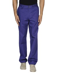 Caramelo Trousers Casual Trousers Men Purple