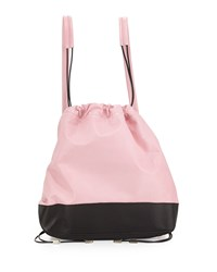 Boyy Sloppy Joe Two Tone Backpack Pink Black