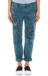 Nsf Distressed Beck Jeans Blue