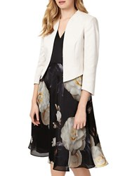 Phase Eight Tabitha Open Front Jacket Champagne