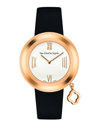 Charms Pink Gold Watch 38Mm Van Cleef And Arpels Pink Gold