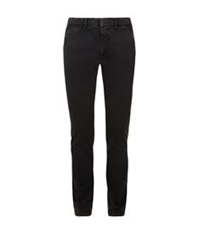 Tomas Maier Tapered Chino Trousers Black