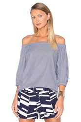 Trina Turk Darius Top Blue