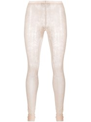 Red Valentino Sheer Floral Lace Tights 60