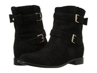 Kate Spade Sabina Black Sport Suede Women's Pull On Boots