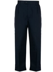 Msgm High Rise Cropped Cargo Trousers 60