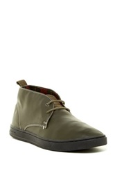 Diesel Primetivers Drive Time Leather Chukka Boot Green