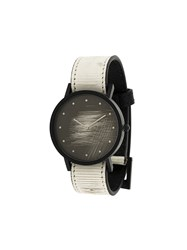 South Lane Avant Surface Watch Calf Leather Stainless Steel White